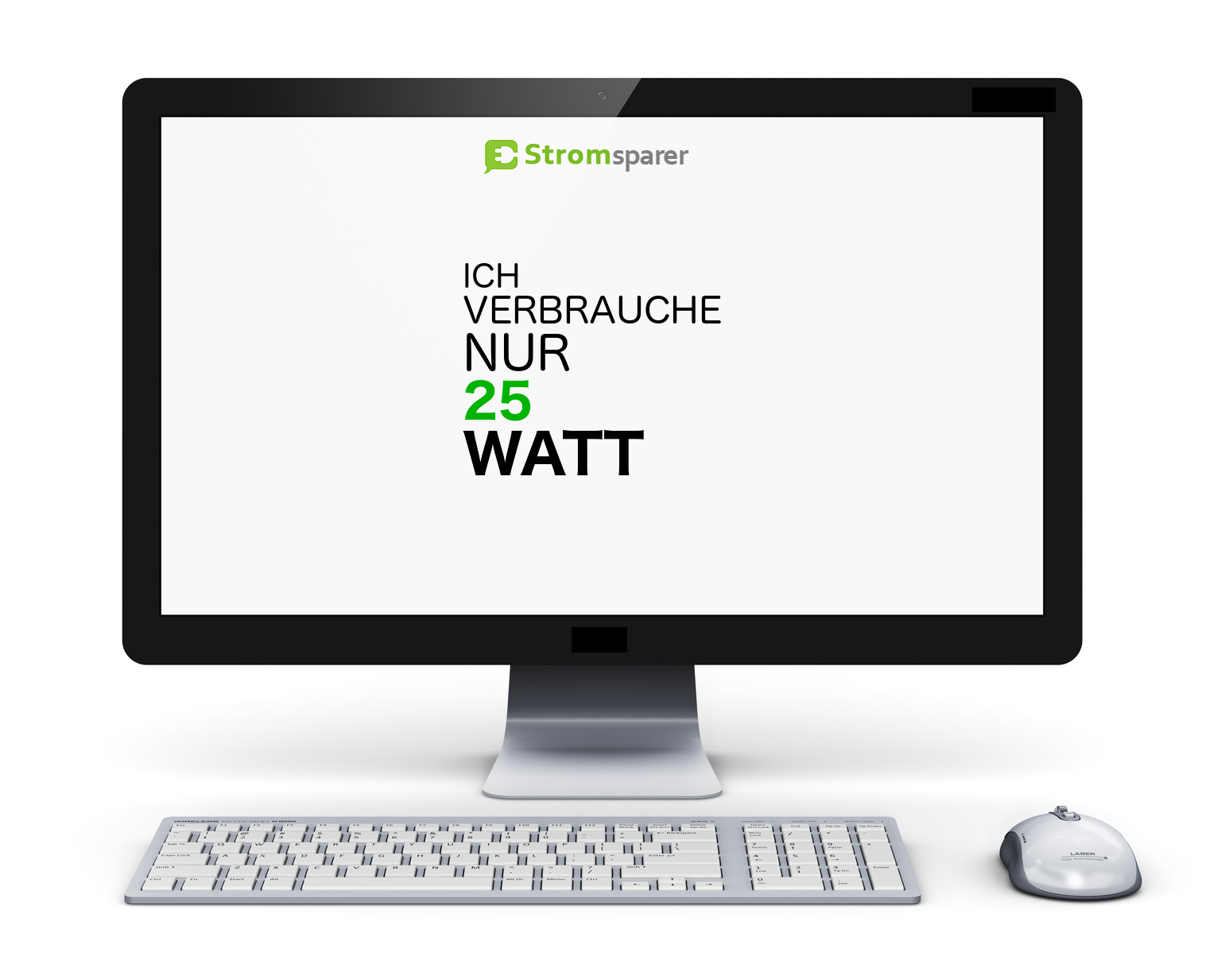 TFT-Monitor-Energieverbrauch