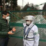 Stefan Gödde betritt nur fünf Jahre nach dem GAU die Sperrzone von Fukushima - Foto:  Presseportal.de