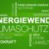 Energiewende Klimaschutz Hintergrund Textcloud